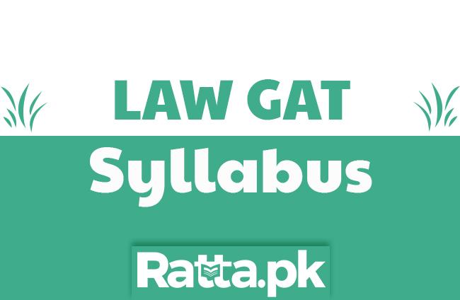 LAW GAT Syllabus 2020