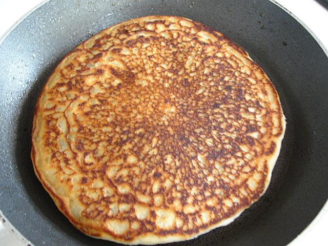 how to make pancake without egg and baking powder
