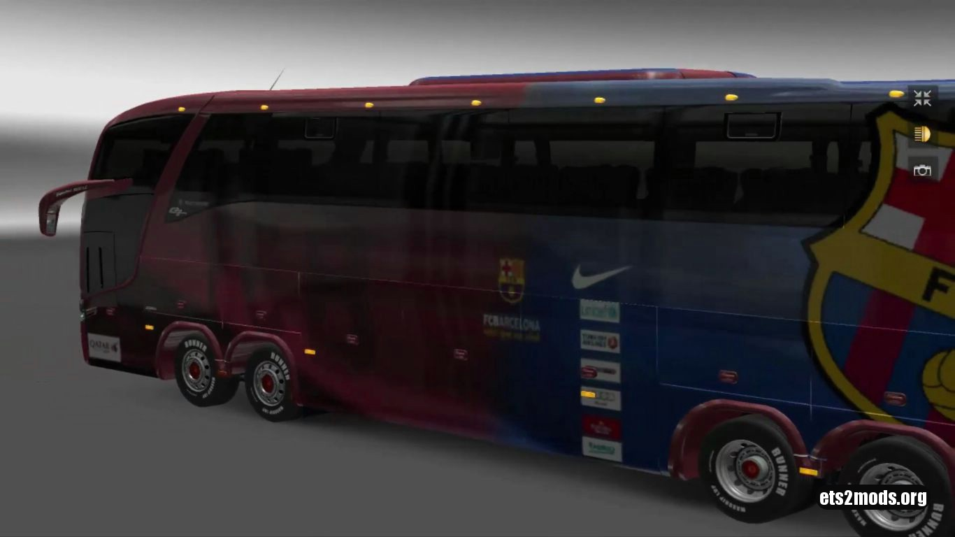 Bus – Marcopolo G7 1600LD FC Barcelona