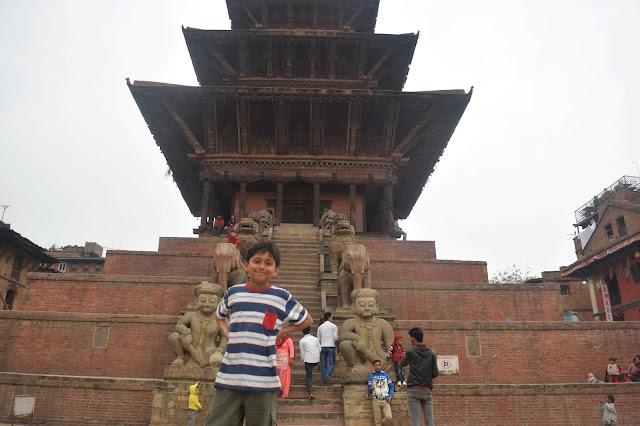 Nyatphola  tmple Bhaktakpur