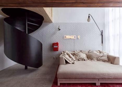 decoração de um loft
