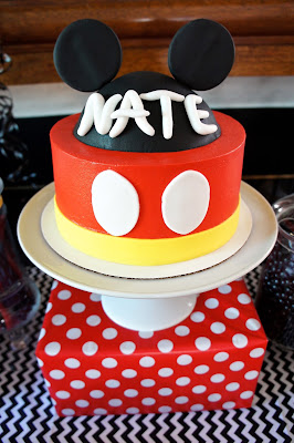 MICKEY MOUSE DESSERT TABLE!