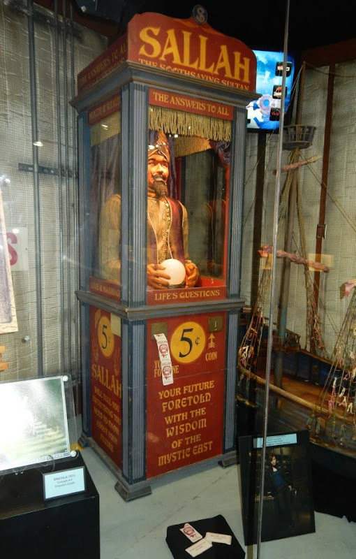 Warehouse 13 Fortune Teller Booth