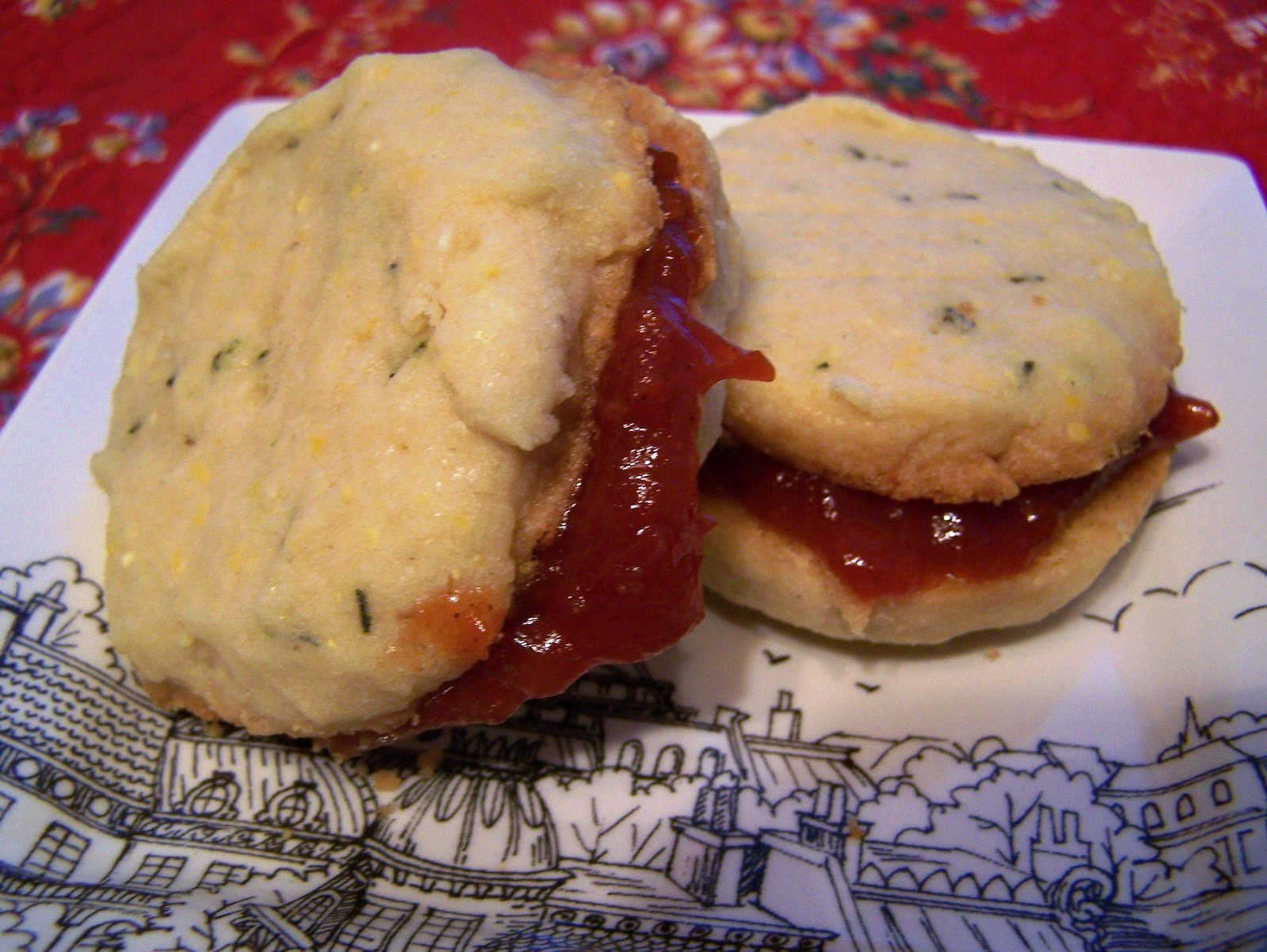 Rosemary Shortbread Cookies Recipe
