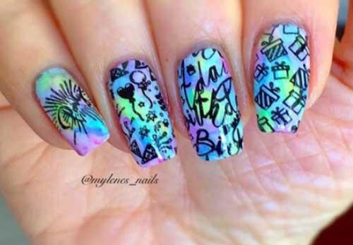 fall nail designs for short nails