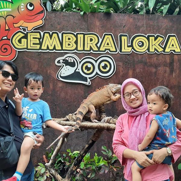 Cerita Liburan ke Gembira Loka Zoo Yogyakarta