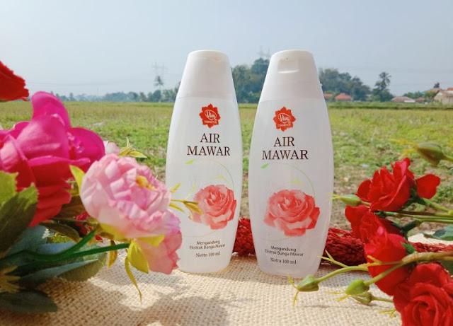 air mawar viva, viva skin care, spray air, Vitamin  c dan e, klit glowing, toner, pori-pori besar, jerawat, kulit berminyak, penyegar kulit