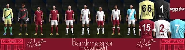 Bandırmaspor 2016-17 GDB Set | Mustafa Sert