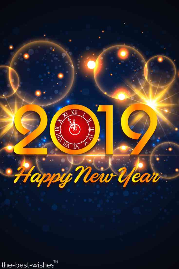 happy new year 2019 hd pic