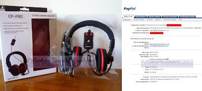 Headset Sony PlayStation freebiejeebies paypal prémios prémio
