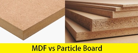 Particle Board vs MDF - Difference Between MDF and Particle Board