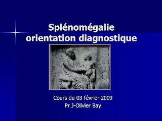 Splénomégalie orientation diagnostique .pdf
