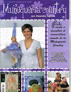 Muñequeria Country Año 1 Nro.6 Alejandra Sandes