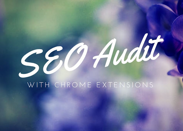 SEO audit chrome extensions
