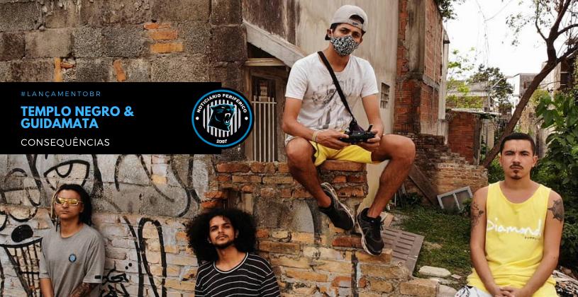 """O grupo Templo Negro lança o clipe do single """"Consequências"""""""