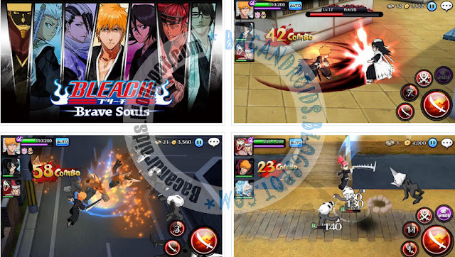 download Game Bleach Brave Soul Apk Versi Update v3.3.0 MOD Mega