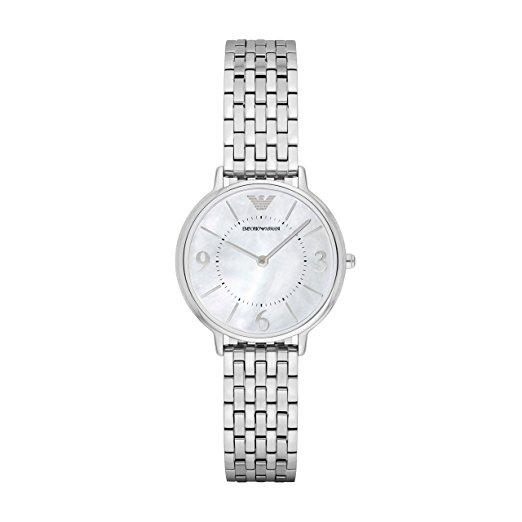 Armani damenuhren silber  Armani Damenuhren in Silber Sale: diese Modelle bleiben in ...