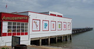 Felixstowe Pier in May 2011