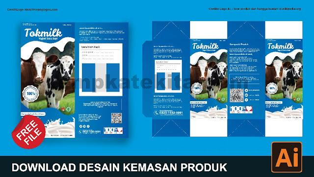 Download Kemasan Produk Minuman CorelDraw Dan Photoshop Gratis