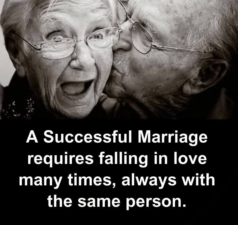 Awesome Quotes: A Successful Marriage Requires