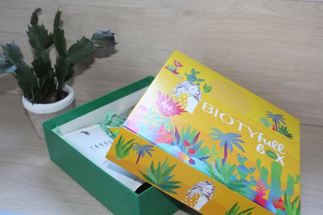 """Biotyfull Box d'AOÛT 2020 """"100% Aloe Vera"""""""