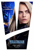 Valerian and the City of a Thousand Planets Movie Poster 7 Cara Delevingne as Laureline