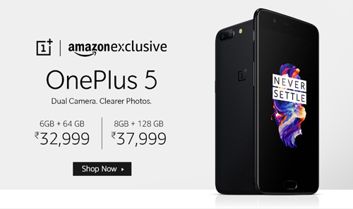 Buy Latest Smartphone OnePlus 5