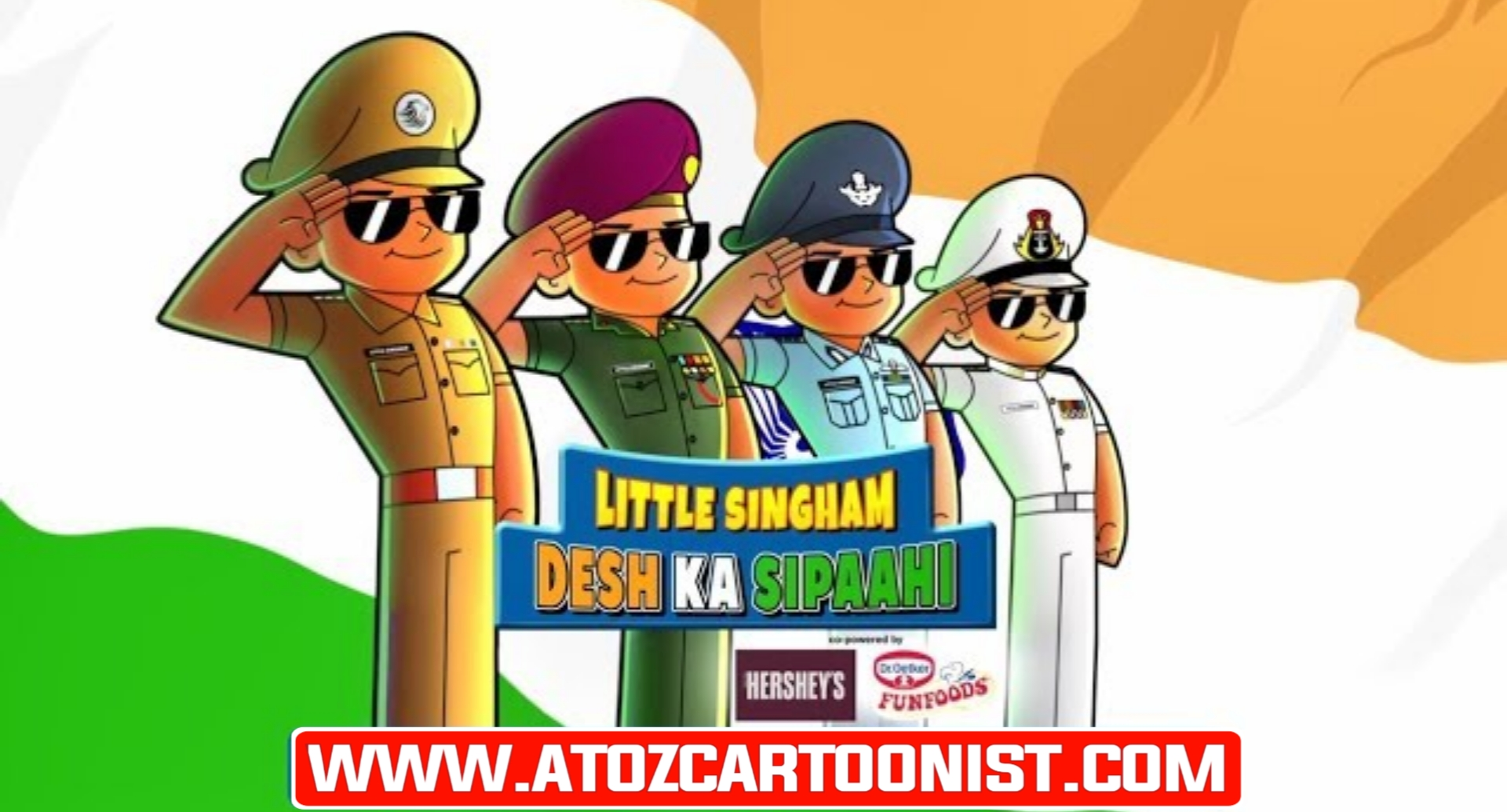 LITTLE SINGHAM : DESH KA SIPAAHI FULL MOVIE IN HINDI DOWNLOAD (480P HALF HD)