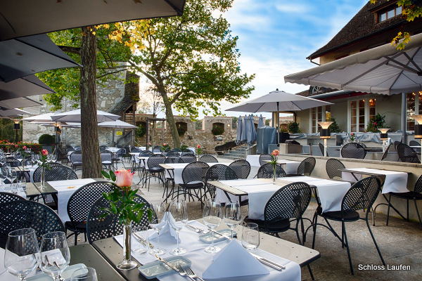 Restaurante del Castillo Laufen (Rheinfall, Suiza)
