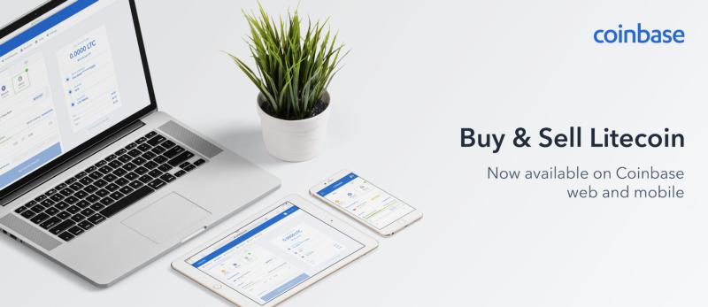 Coinbase hỗ trợ Litecoin