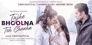 Tujhe Bhoolna Toh Chaaha Lyrics in English – Jubin Nautiyal