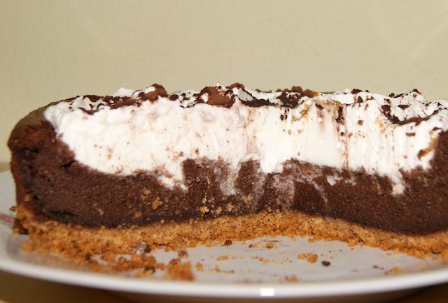 czekoladowy torcik serowy