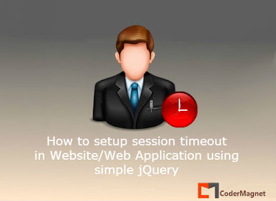 How to setup Session Timeout for Web Applications