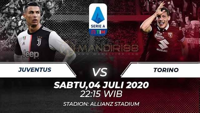 Prediksi Juventus Vs Torino, Sabtu 04 Juli 2020 Pukul 22.15 WIB