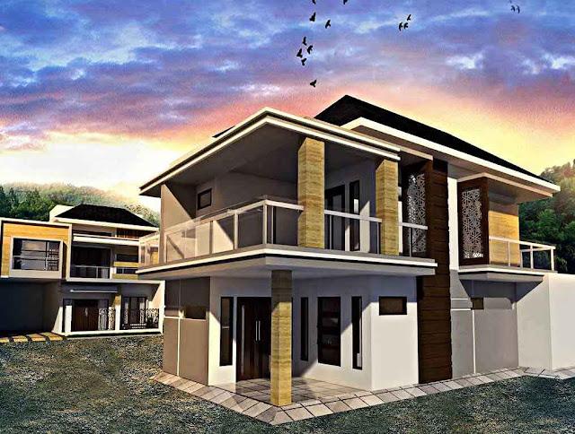 Warna Desain Rumah Minimalis Terbaik