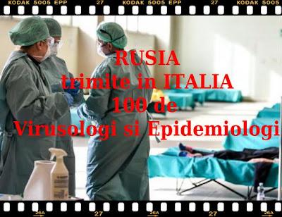 rusia ajuta italia in lupta cu coronavirusul cu 100 de virusologi