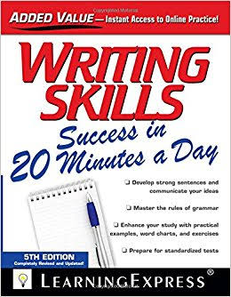 WRITING SKILLS:- SUCCESS IN 20 MINUTES A DAY BOOK