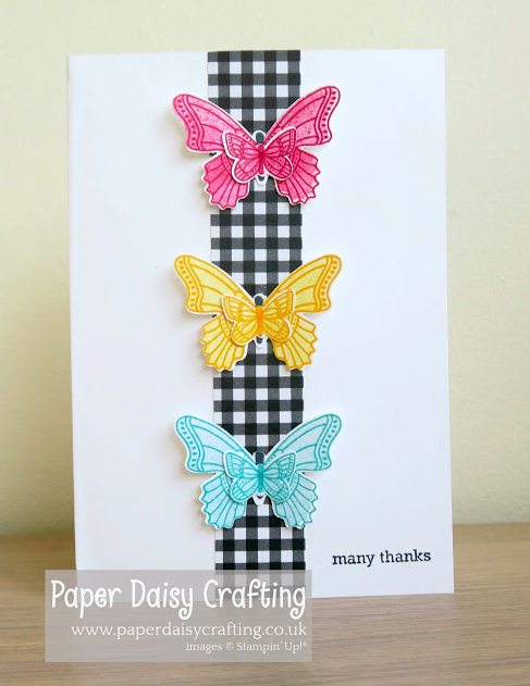 Nigezza Creates With Stampin' Up! & Paper Daisy Crafting & Butterfly Gala