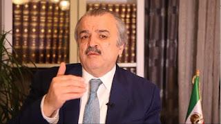 السيد محمد محدثين رئيس لجنة العلاقات الخارجية  في المجلس الوطني للمقاومة الإيرانية يصرح بأن نظام الملالي إرهابي