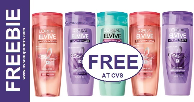 FREE L'Oreal Shampoo CVS Deal 4-12-4-18