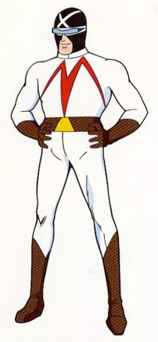 REX - El corredor enmascarado - Anime 1968  (METEORO - SPEED RACER - MACH Go Go Go)