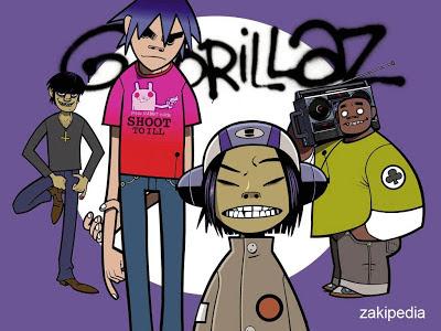 Gorillaz, Band Terbaik Di Dunia Virtual