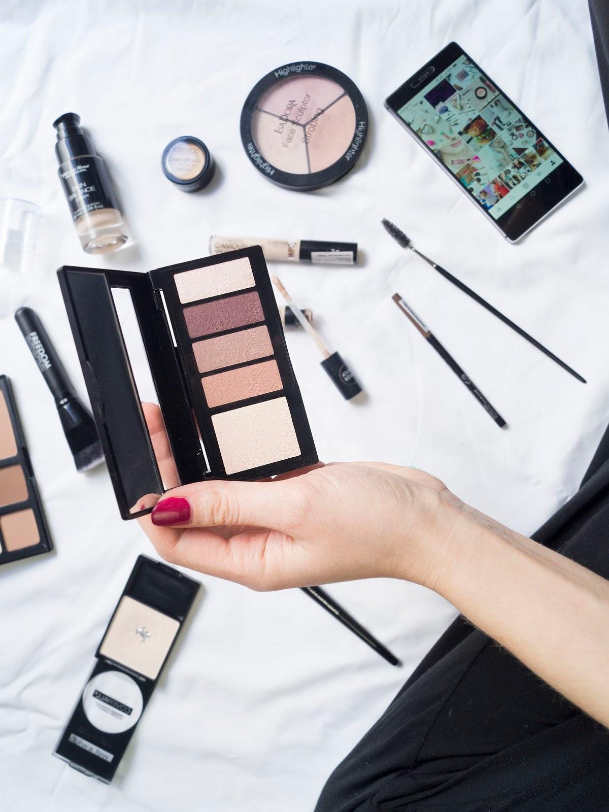 Mój codzienny makijaż - spis kosmetyków