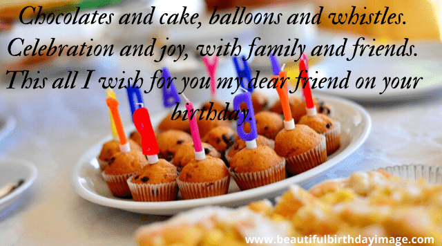 Happy Birthday Images For Friend