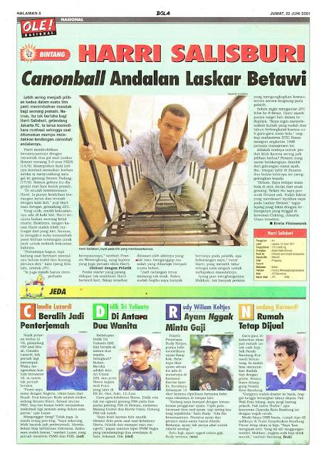 PROFIL BINTANG LIGA INDONESIA HARRI SALISBURI