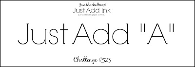 Jo's Stamping Spot - Just Add Ink Challenge #523