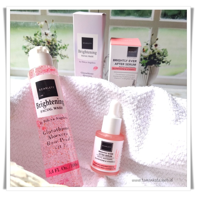 Review Scarlett Brightly Ever After Serum
