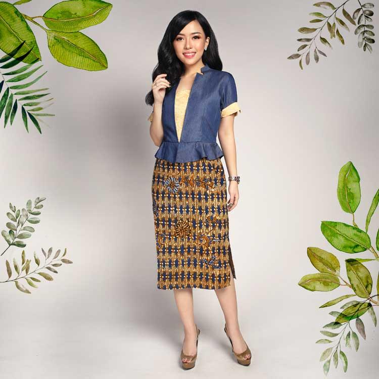 Model Baju Batik Terbaru Pria Dan Wanita Anak Serba Tau