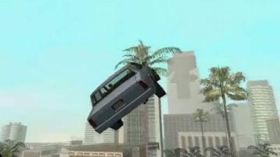 Cheat Mobil Terbang  (GTA: San Andreas)