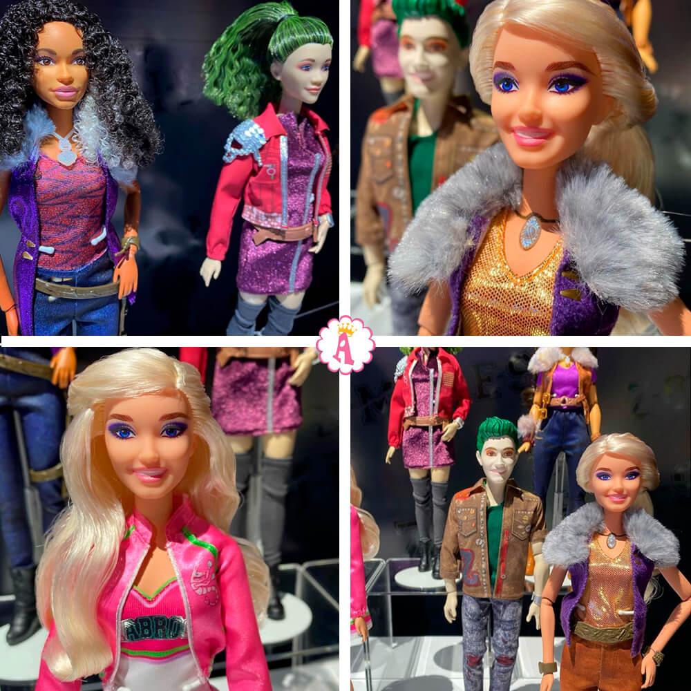 Новые игрушки куклы барби Зомби коллекция Mattel Zombies 2020